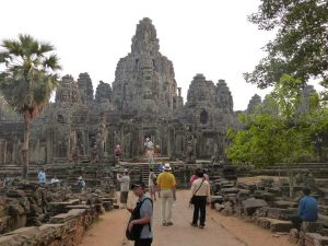 Wunderschön, aber hoffnungslos überlaufen: die Tempel von Angkor.