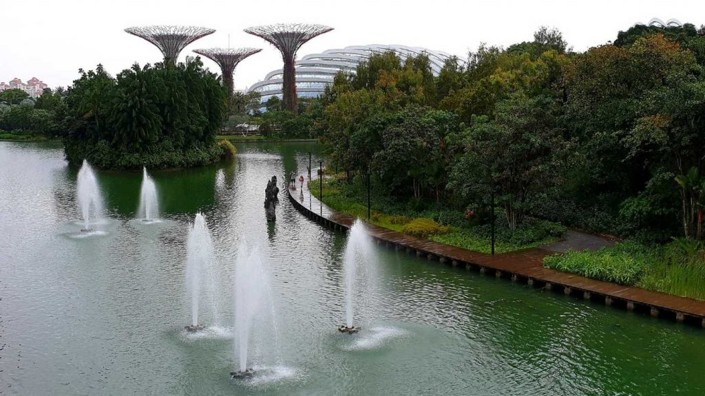 Die Gardens by the Bay in Singapur