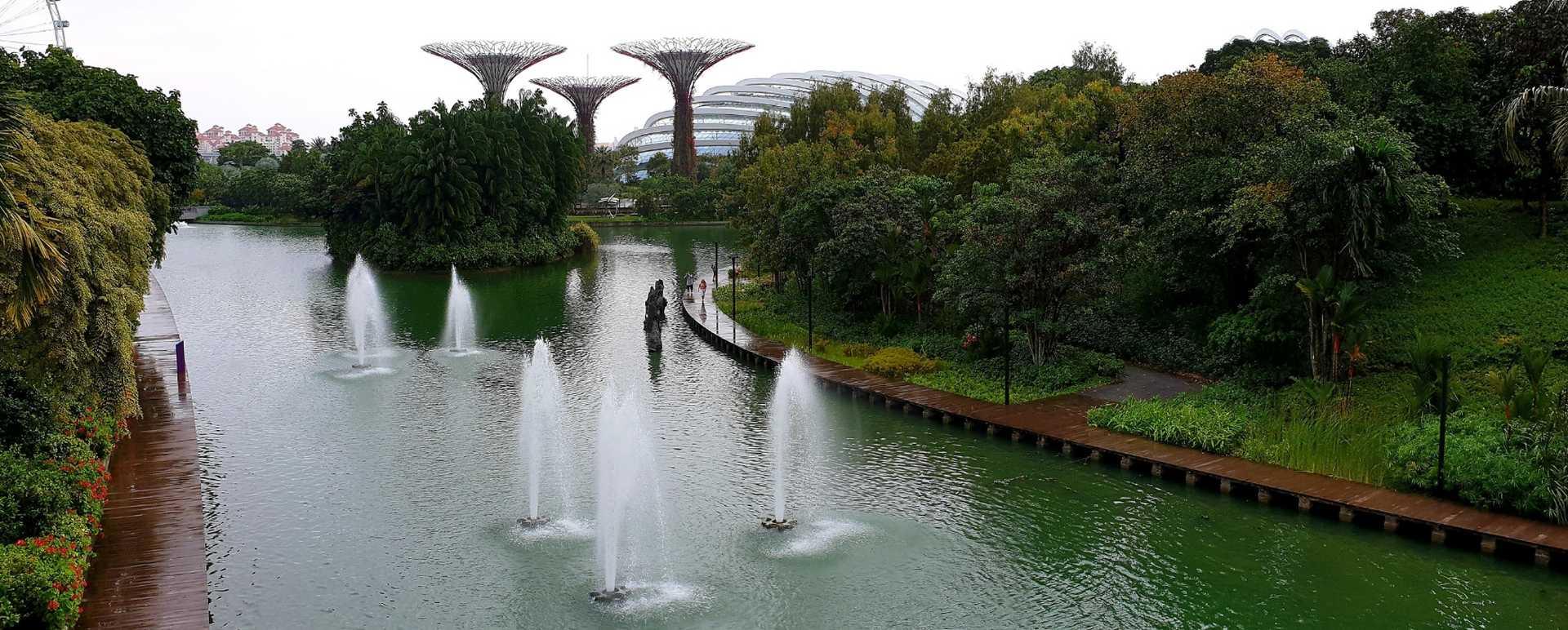 Die Gardens by the Bay in Singapur