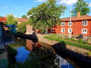 ...und noch eine typisch schwedische Stadt: die Holzstadt Eksjö.
