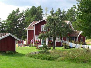 Große Ansteckungsgefahr? Die Grundstücke auf dem Land in Schweden sind riesig; der Nachbar oft weit weg.