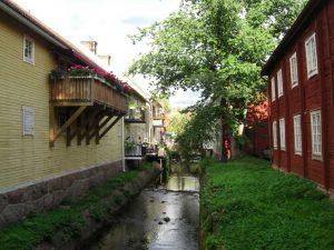 Impressionen aus Eksjö - einer der schönsten Städte Smålands.