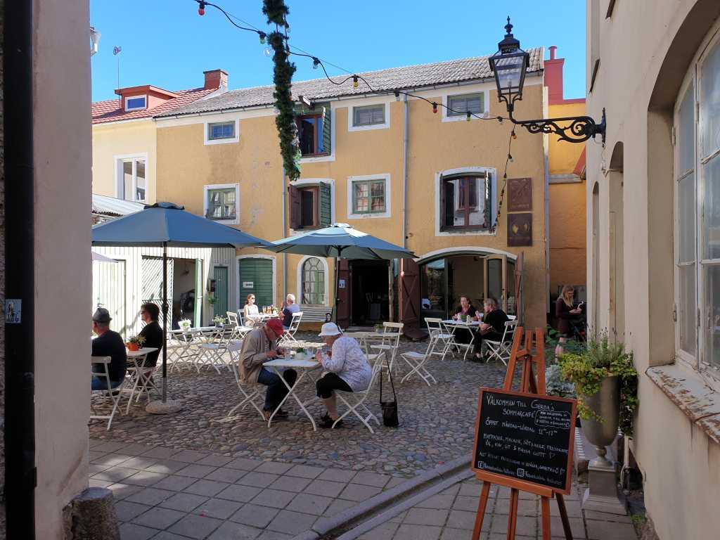 Fica hat Tradition in Småland. Kleine Cafés sind überall zu finden.