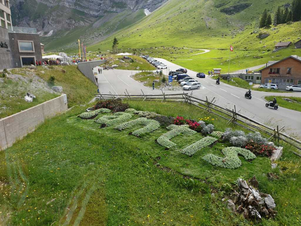 an der Säntisbahn im Appenzellerland, Schweiz.
