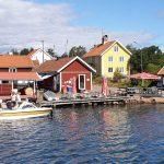 Hafenidylle in Smaland, Schweden