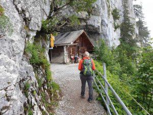 Die Wildkirchlihöhle im Appenzellerland, Schweiz.