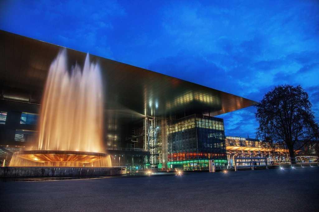 das Kunst und Kongresszentrum von Luzern