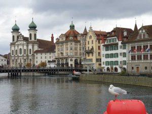 Jesuitenkirche in Luzern, Schweiz