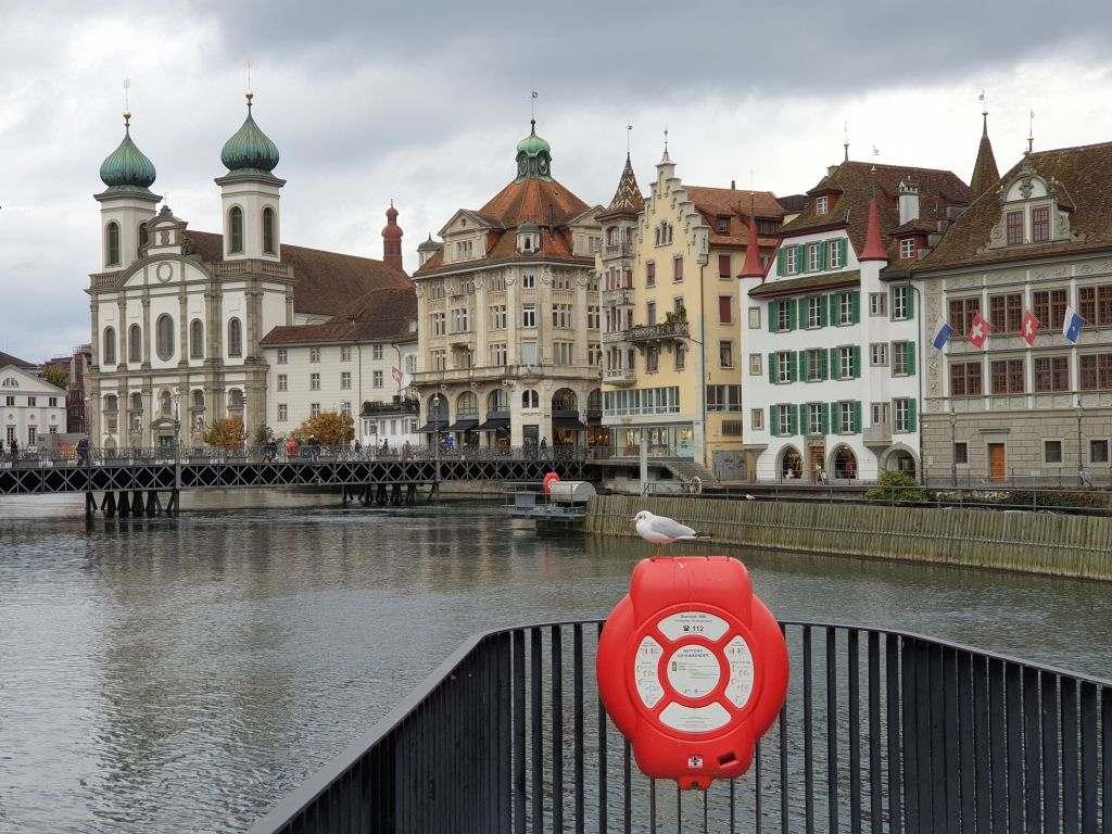 Stadtansicht von Luzern in der Schweiz