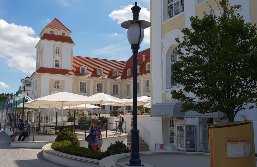 Kurhaus von Binz in Rügen