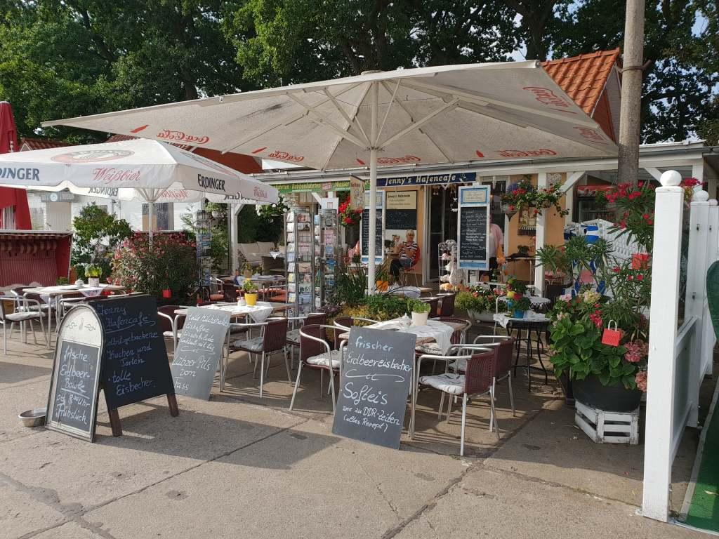 Café auf Rügen