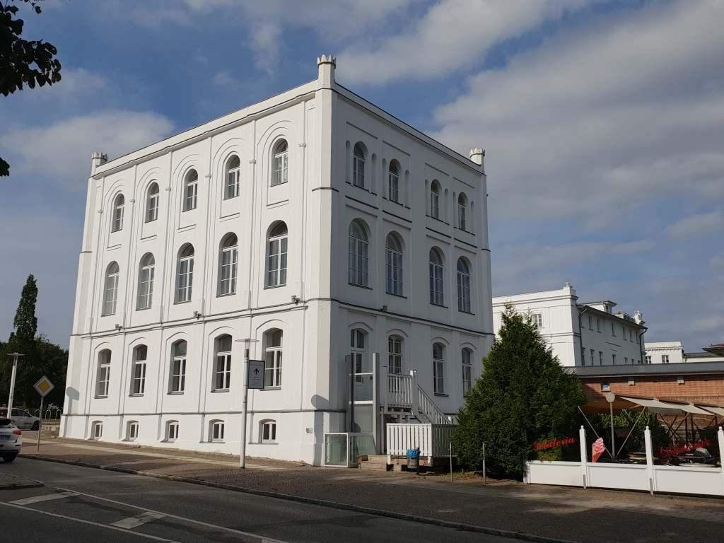 klassizistische Architektur in Puttbus auf Rügen