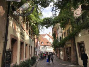 die Konviktstraße in Freiburg