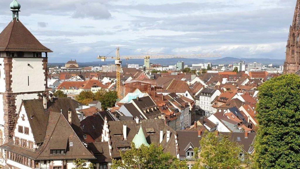 Blick auf Freiburg im Breisgau