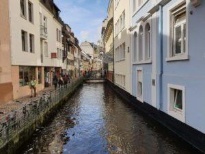 die Fischerau in Freiburg