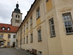 das Kloster Plankstetten am Ludwigkanal