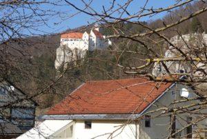 Burg Prunn im Altmühltal am Ludwig-Donau-Main-Kanal