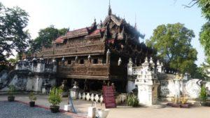 Die Shwenandaw Pagode in Mandalay in Myanmar