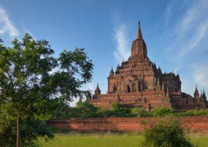Pagode in Bagan in Myanmar