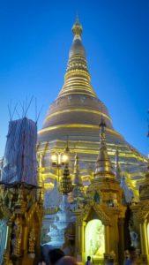 Die Shwedagon Pagode: das Wahrzeichen von Yangon in Myanmar