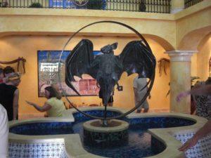das Casa bacardi in San Juan, der Hauptstadt der Karibikinsel Puerto Rico