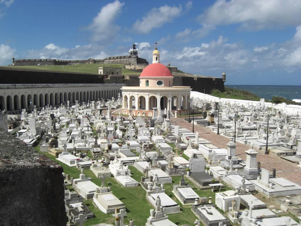 Cementerio Santa María Magdalena de Pazzi in San Juan, der Hauptstadt der Karibikinsel Puerto Rico