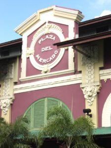 Die Plaza del Mercado in San Juan, der kolonialen Perle von Puerto Rico.