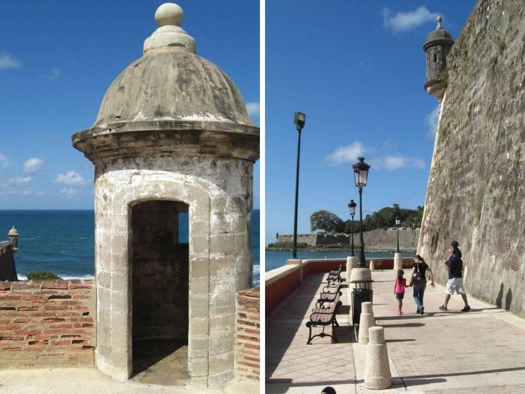 Die Festung San Felipe del Morro in San Juan, der Hauptstadt der Karibikinsel Puerto Rico