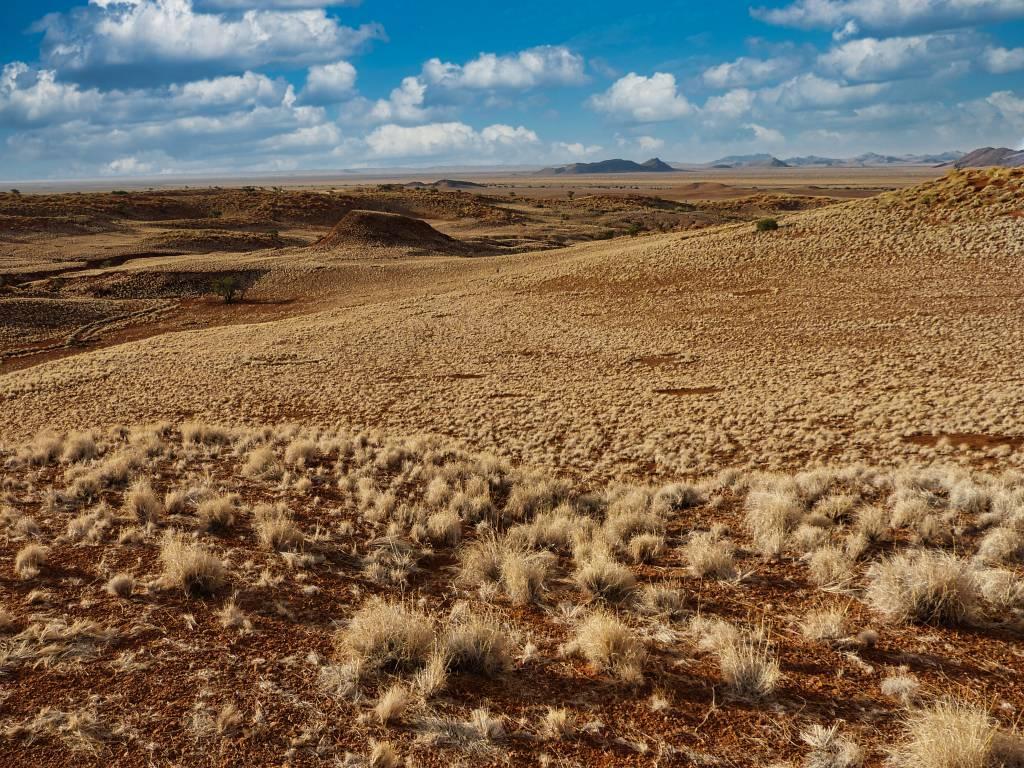 Auf dem Weg zu den Sanddünen der Sossusvlei in Namibia