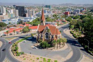 Die Christuskirche in Windhoek, Namibia