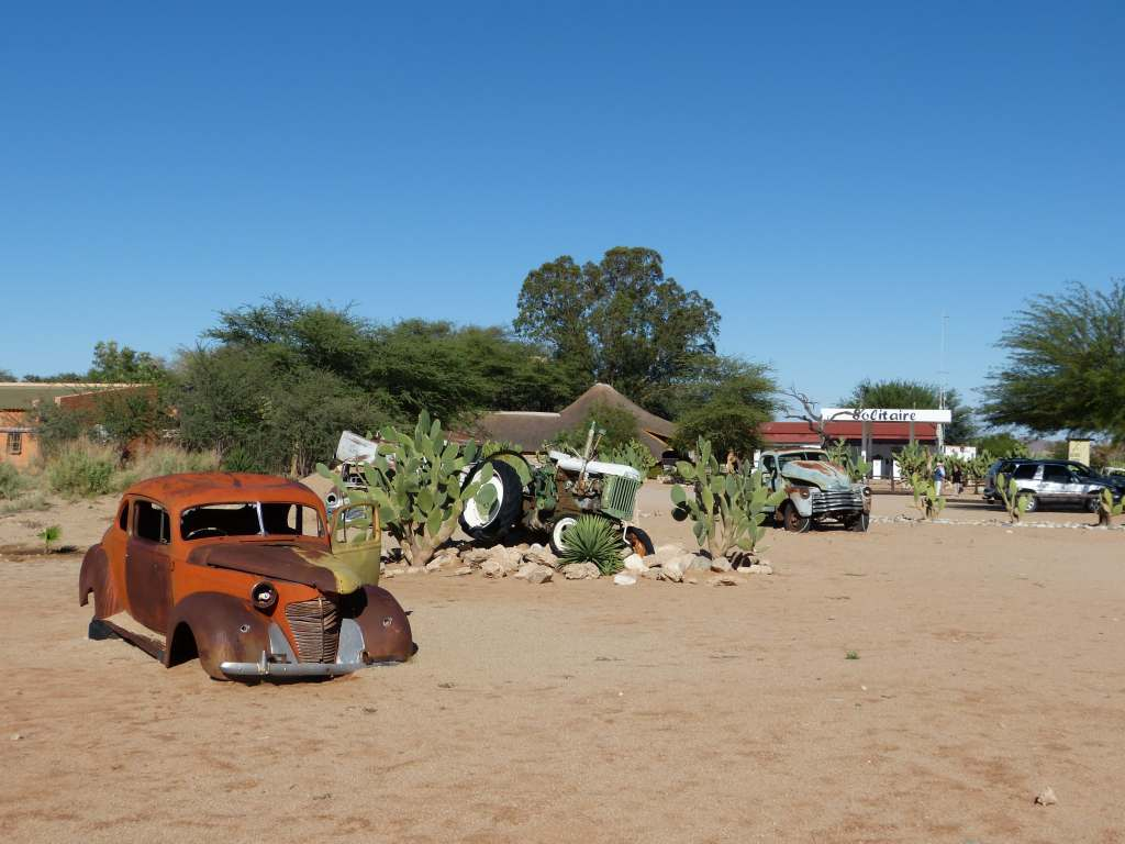 die Siedlung Solitaire in Namibia