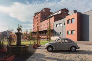Der PS.Speicher in der Fachwerkstadt Einbeck im Süden Niedersachsens