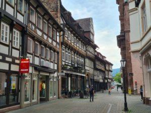die Fachwerkstadt Einbeck im Süden Niedersachsens