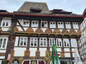 Fachwerkgebäude in Einbeck im Süden Niedersachsens