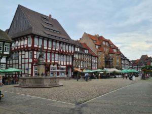 Der Marktplatz Einbecks gute Stube
