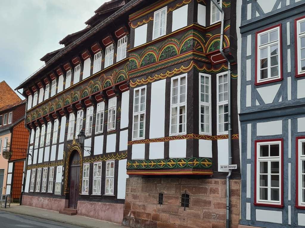 Fachwerkhaus in Einbeck im Süden Niedersachsens